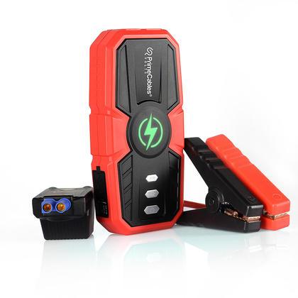Démarreur portatif de saut de voiture de 10000mAh Chargeur de téléphone - PrimeCables®