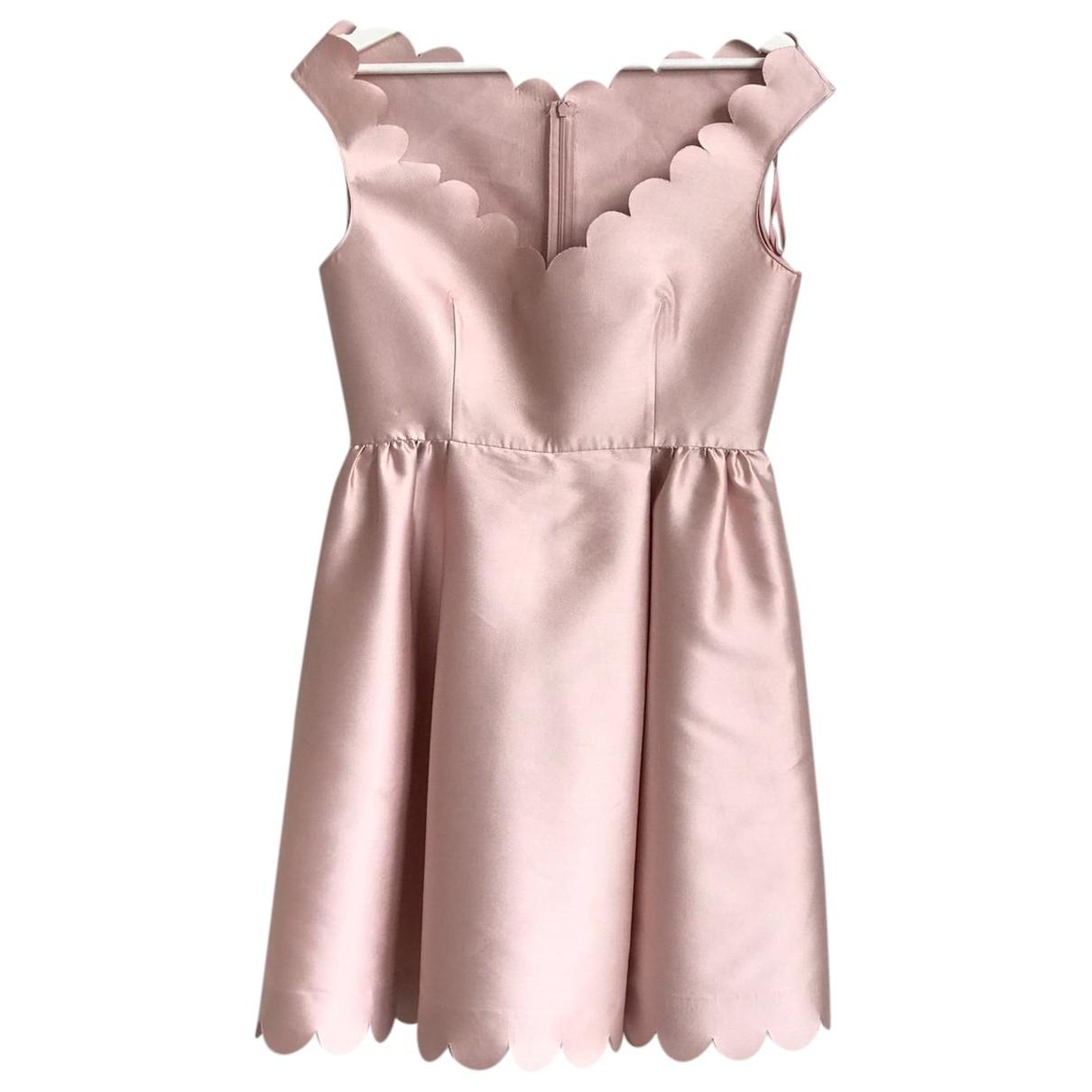 Red Valentino Garavani \N Kleid in  Rosa Polyester