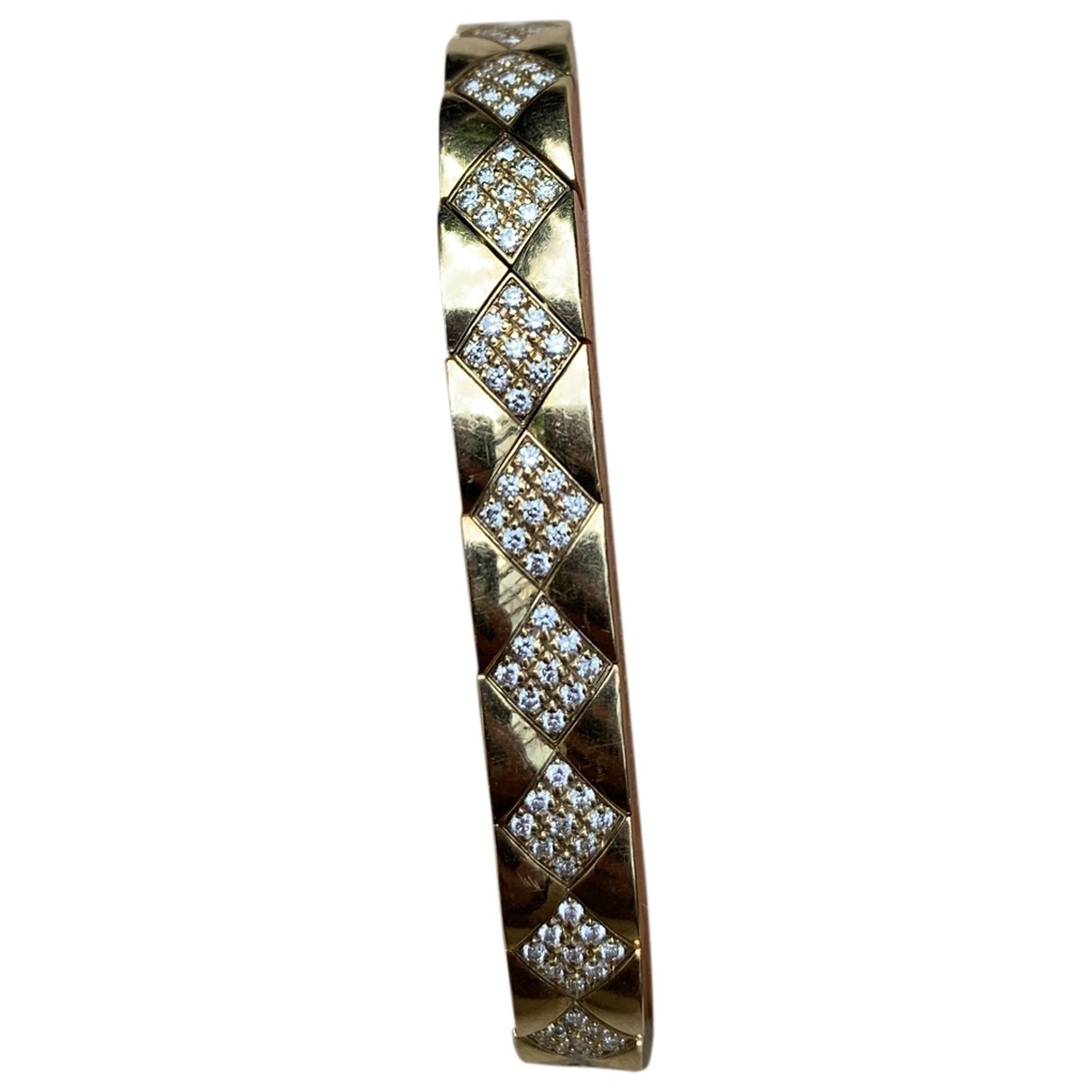 Chanel Matelasse Armband in  Gold Gelbgold