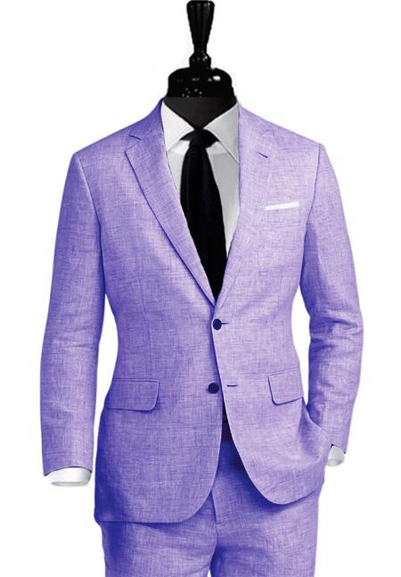 Alberto Nardoni Coming September/1/2017 Notch Lapel Linen Suit