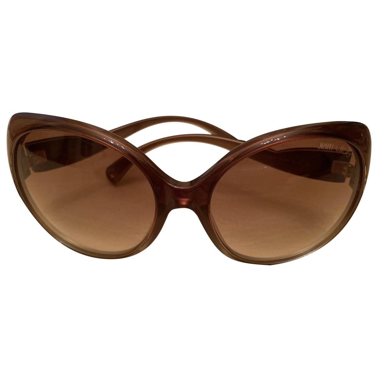 Jimmy Choo \N Brown Sunglasses for Women \N