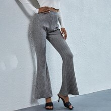 Pantalones Liso Elegante