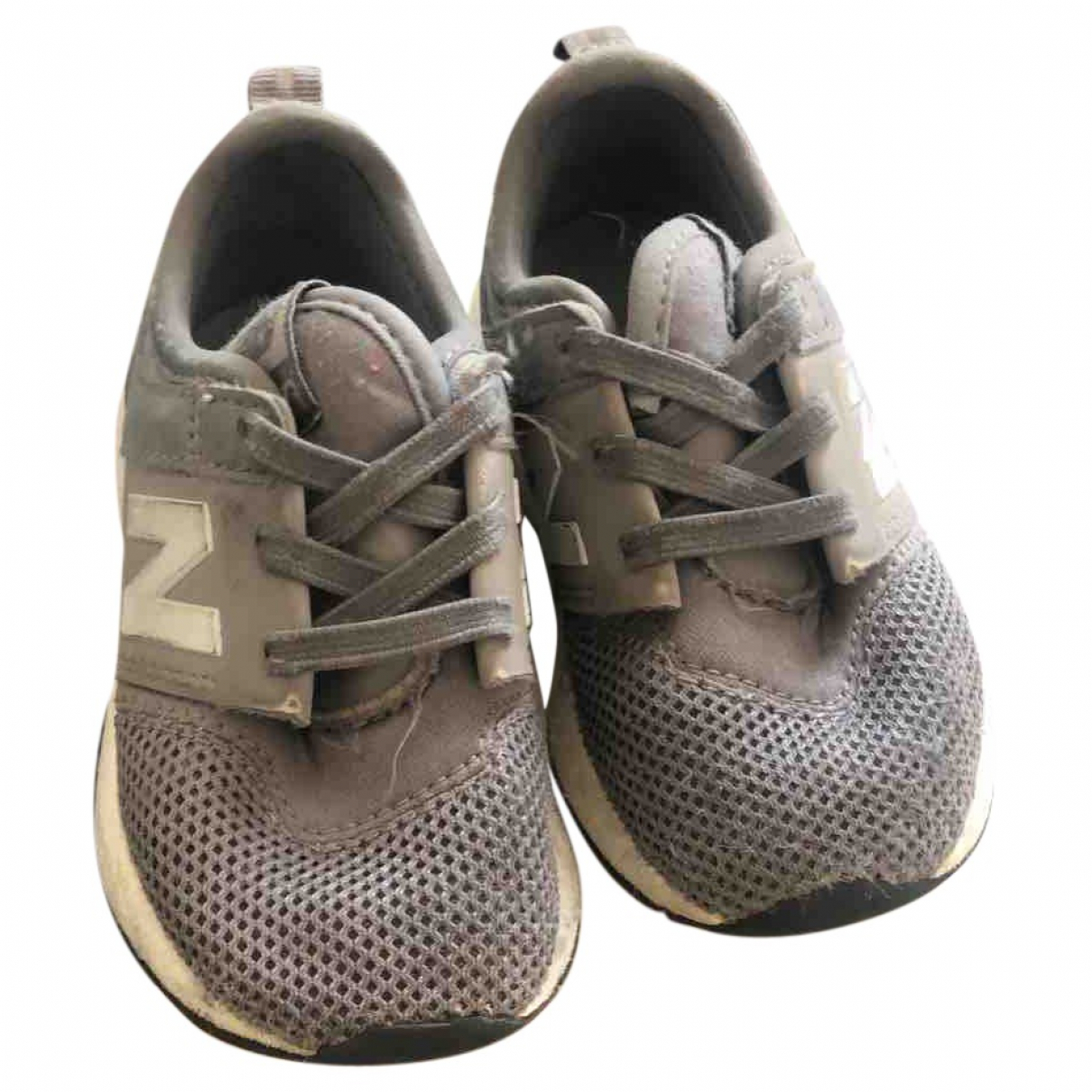 New Balance \N Sneakers in  Grau Leinen