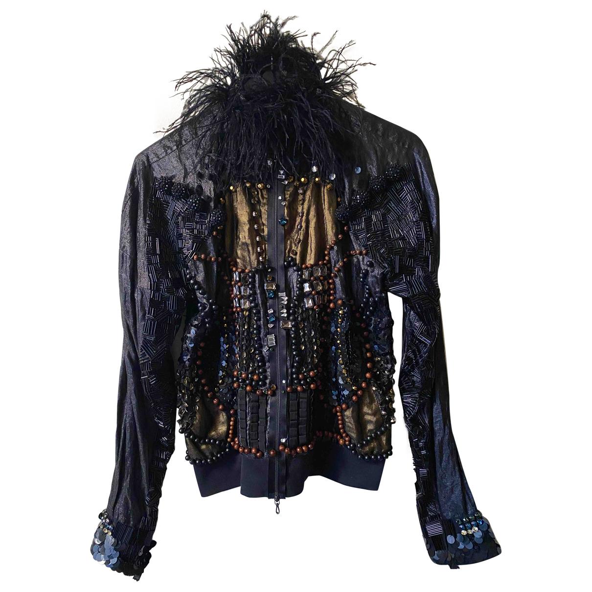 Lanvin - Veste   pour femme en a paillettes - noir