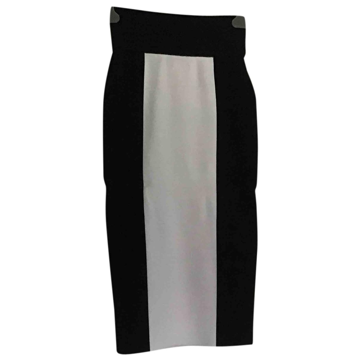 Balmain For H&m - Jupe   pour femme - noir