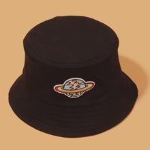 Guys Embroidery Decor Bucket Hat
