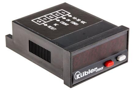 Kubler CODIX 520, 6 Digit, LED, Digital Counter, 60kHz, 10 → 30 V dc