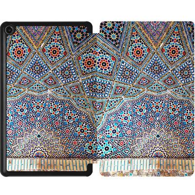 Amazon Fire 7 (2017) Tablet Smart Case - Iranian Mosaic von Omid Scheybani