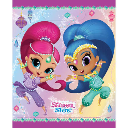 Shimmer and Shine 8 Loot Bags For Birthday Party