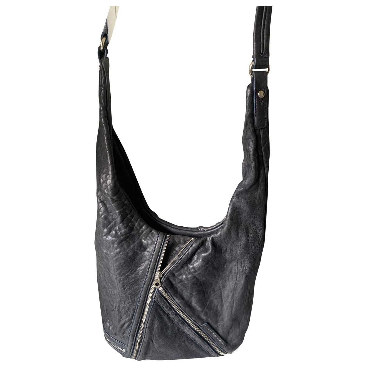 Marc By Marc Jacobs Classic Q Navy Leather handbag for Women \N