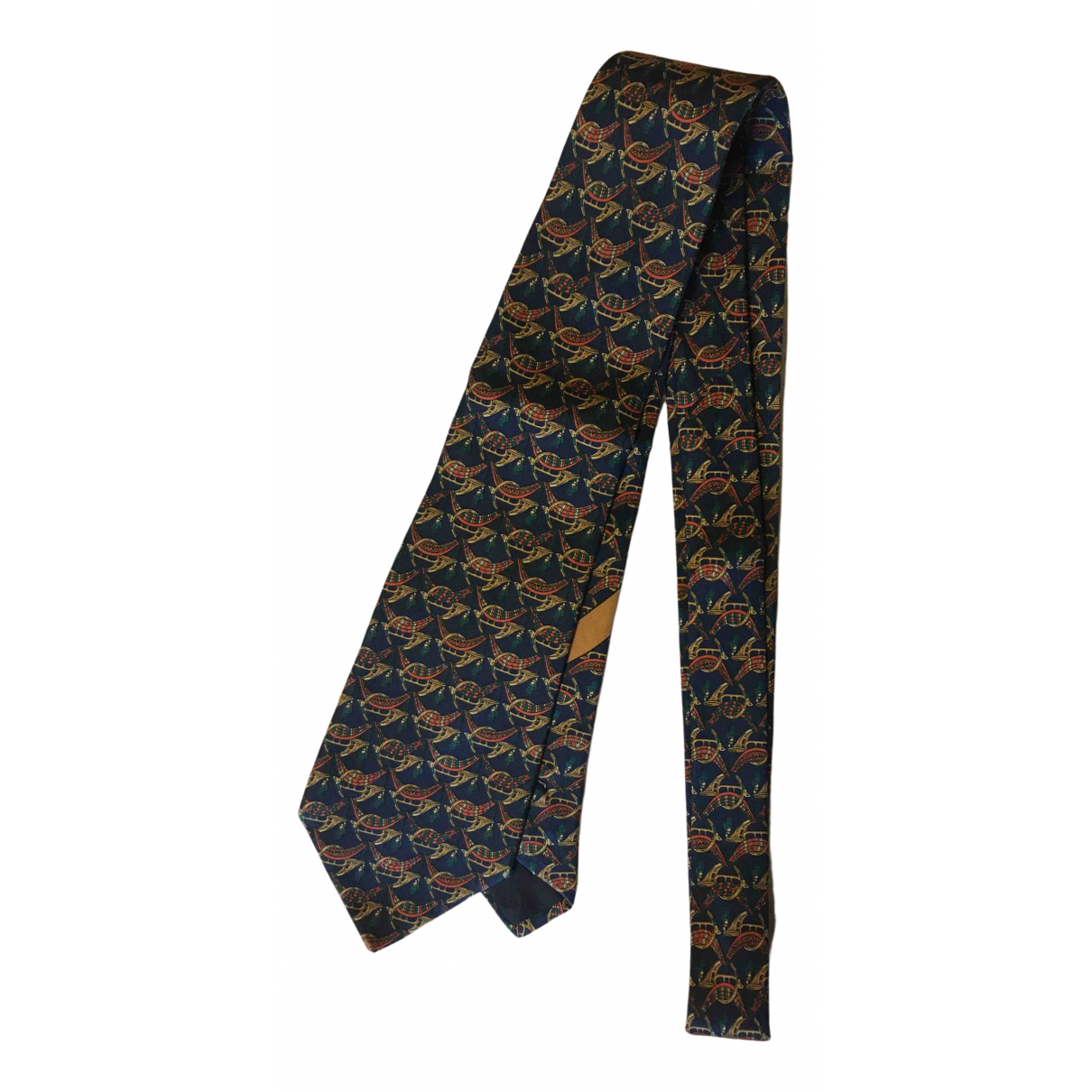 Salvatore Ferragamo - Cravates   pour homme en soie - multicolore