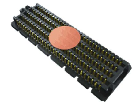 Samtec , SEAM, 160 Way, 8 Row, Vertical PCB Header (100)