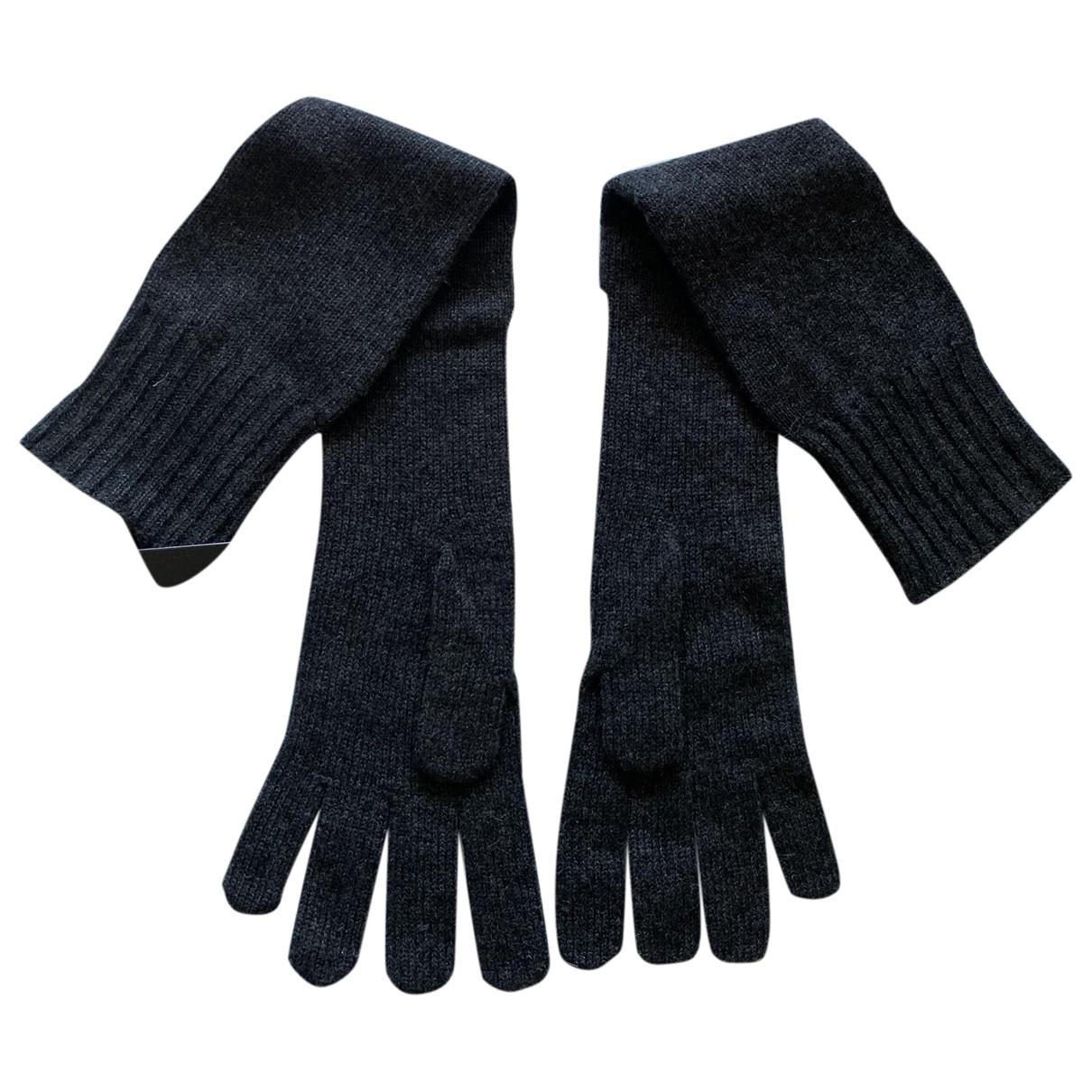 Dolce & Gabbana - Gants   pour femme en cachemire - gris
