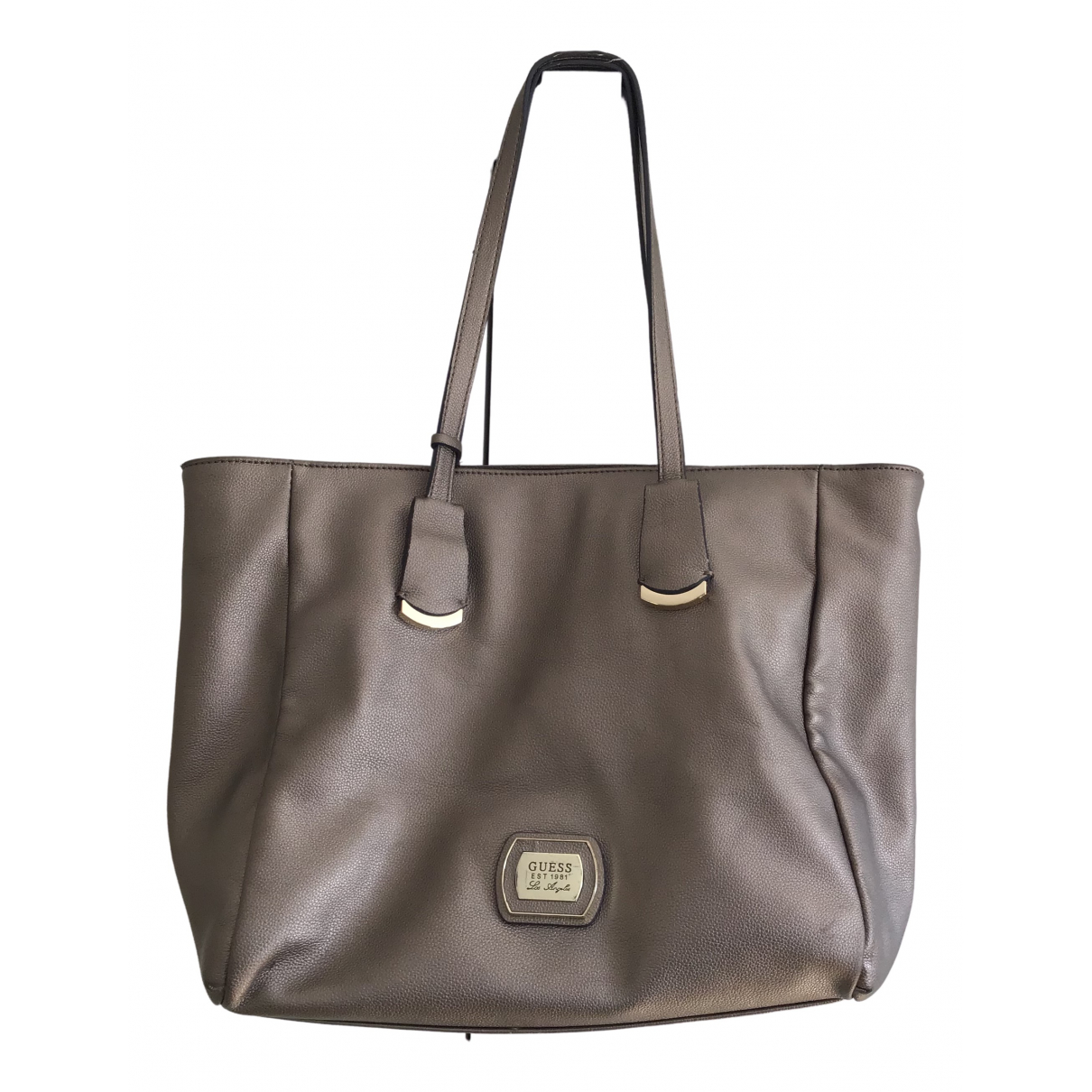 Guess \N Gold Leather handbag for Women \N