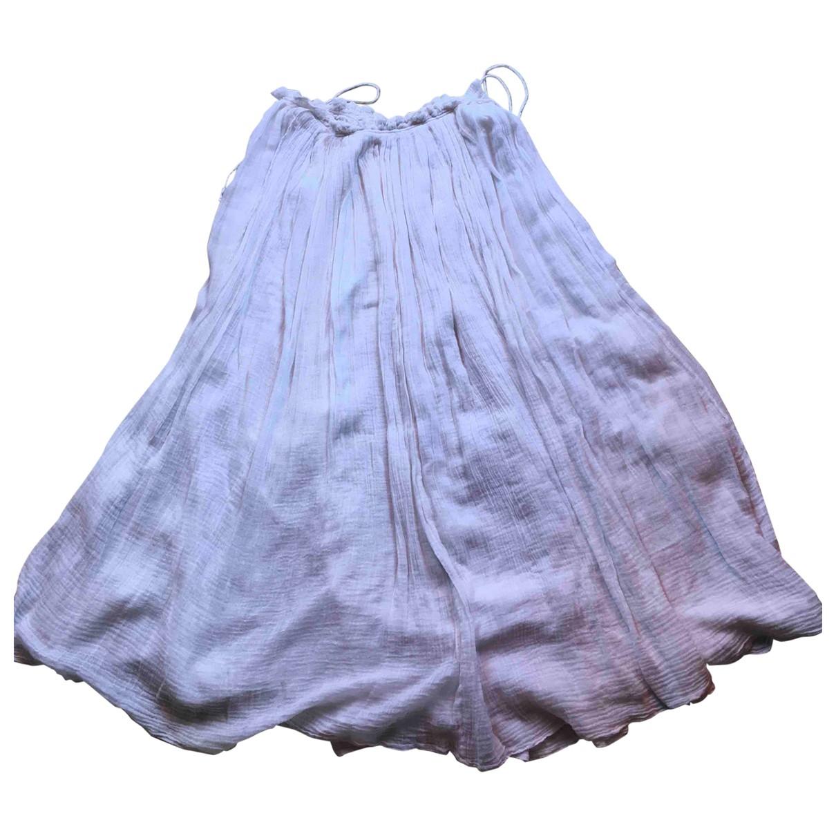 Mes Demoiselles ... \N Beige Cotton skirt for Women 38 FR