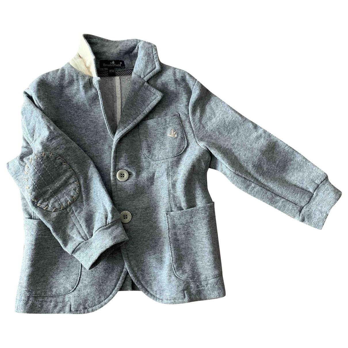 Brooksfield \N Grey Cotton Knitwear for Kids 18 months - until 32 inches UK
