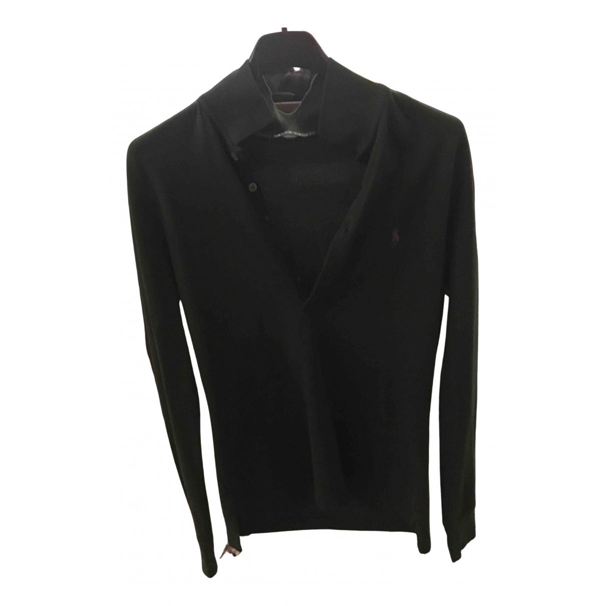 Ralph Lauren - Top   pour femme en coton - vert