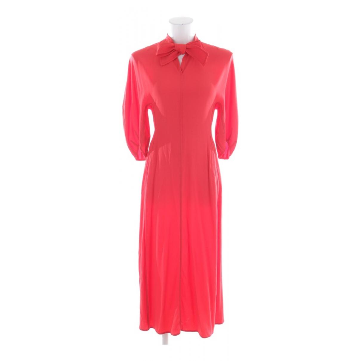 Marni \N Kleid in  Rot Viskose