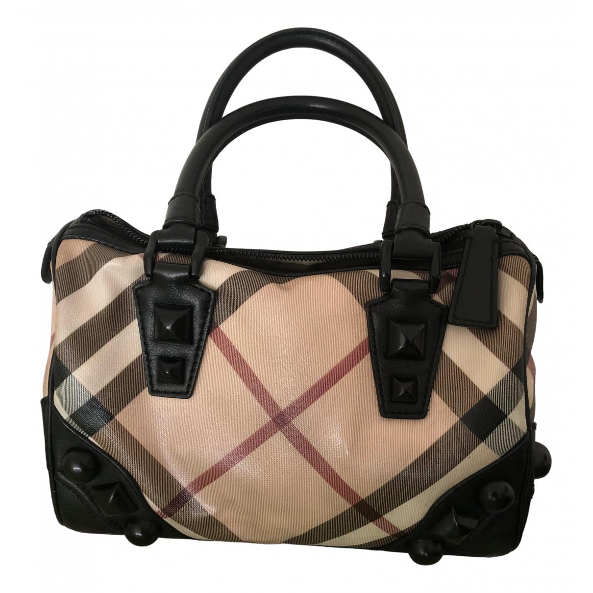 Burberry N Beige Leather handbag for Women N