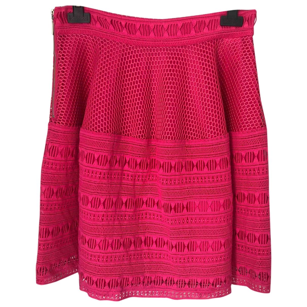 Pinko - Jupe   pour femme en coton - rose