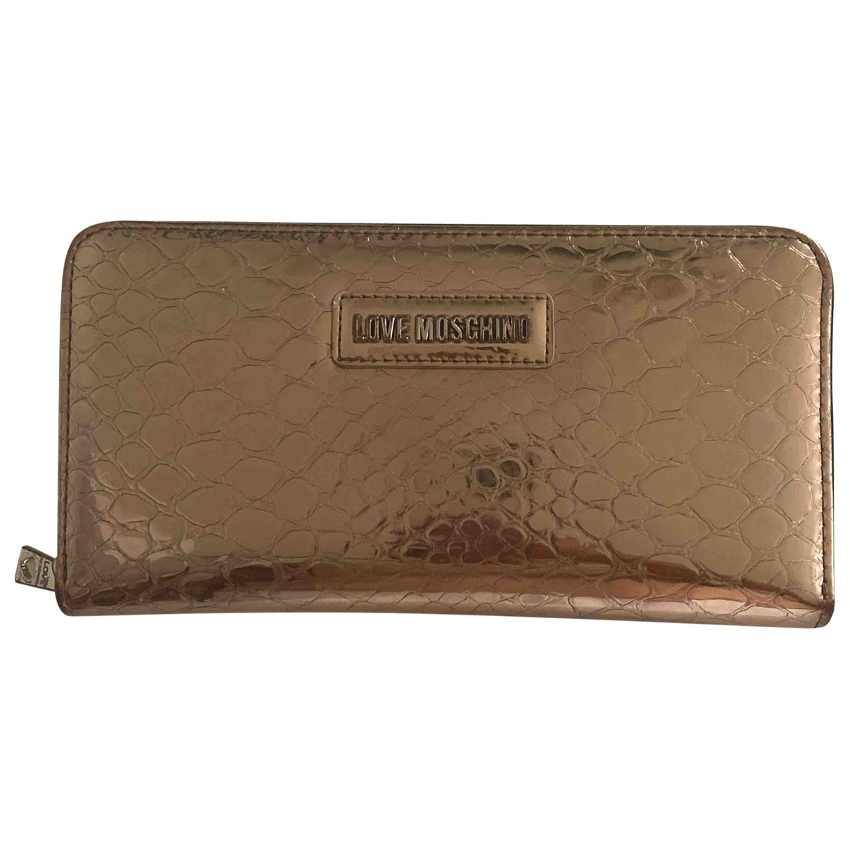 Moschino Love - Portefeuille   pour femme - rose