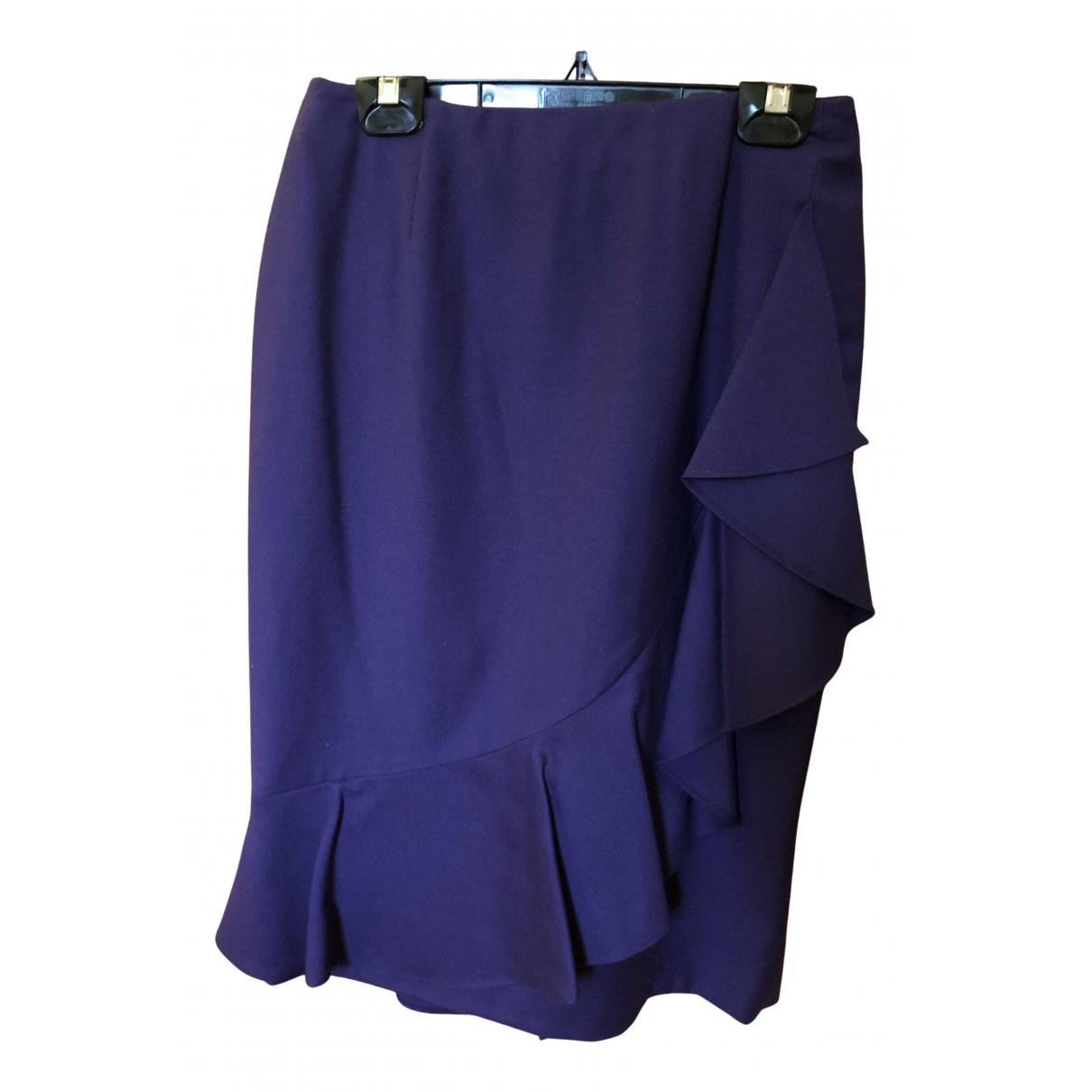 Valentino Garavani N Purple Wool skirt for Women 4 US