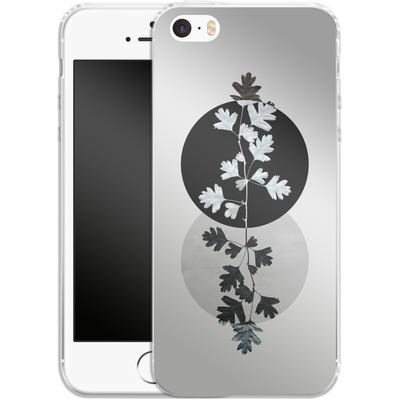 Apple iPhone 5 Silikon Handyhuelle - Geometry and Nature 2 von Mareike Bohmer