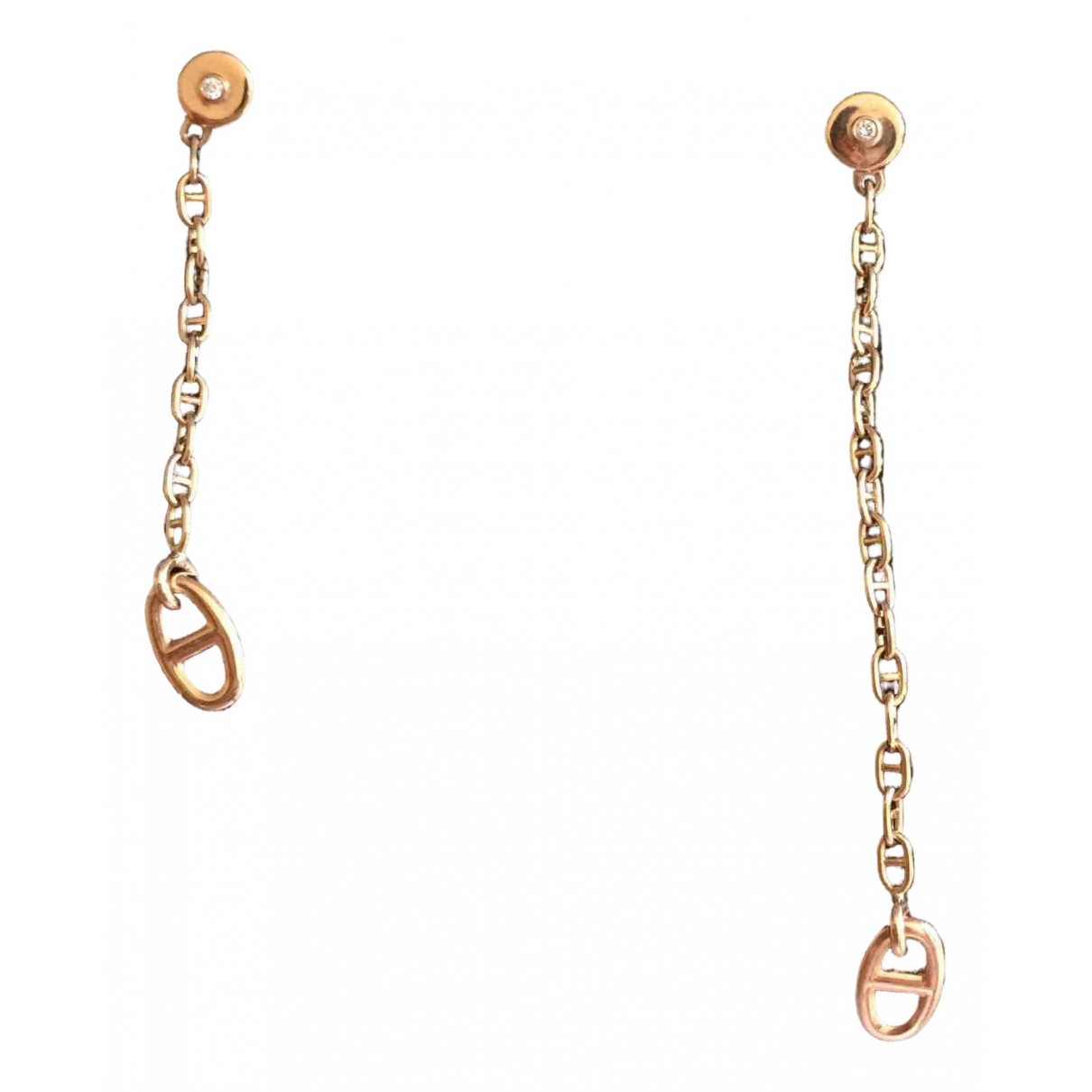 Hermès Farandole Pink gold Earrings for Women \N