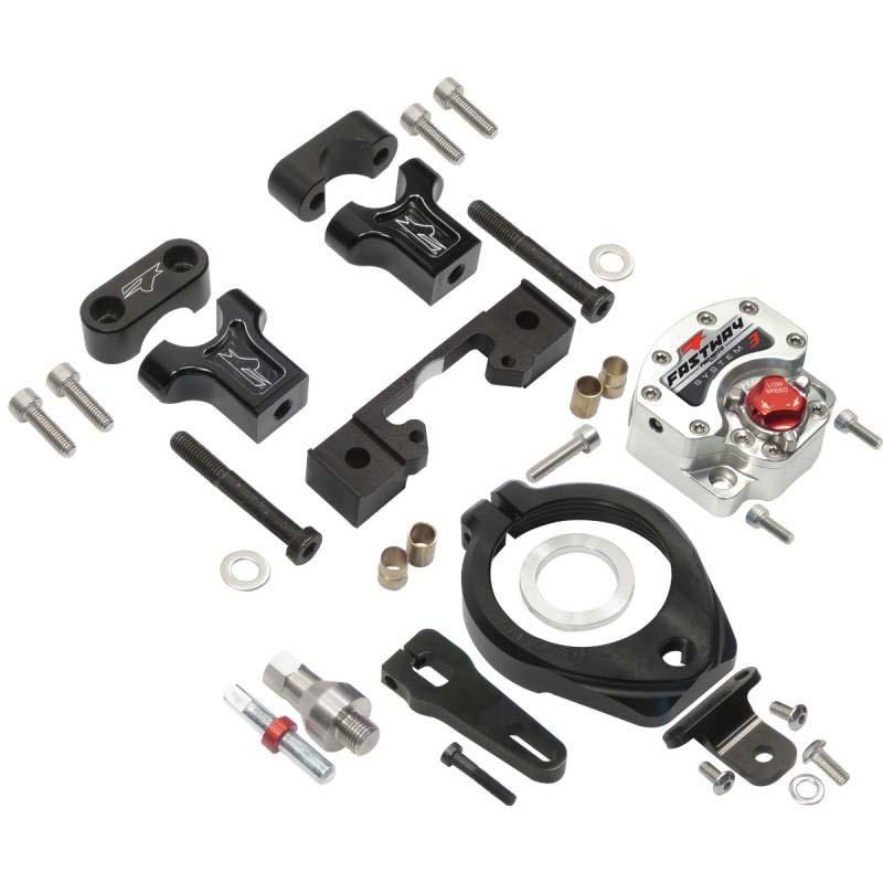 Pro Moto Billet KIT-UB-0404-3 Stabilizer System 3 Under-Bar Kit