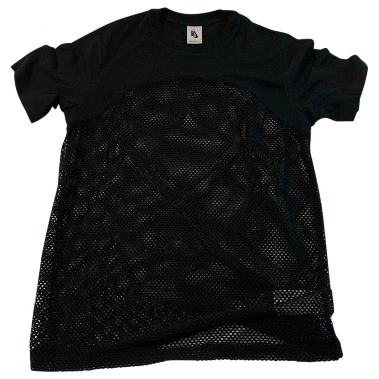 Nike By Riccardo Tisci \N T-Shirts in  Schwarz Baumwolle