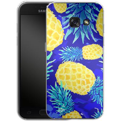 Samsung Galaxy A3 (2017) Silikon Handyhuelle - Pineapple Crush von Mukta Lata Barua