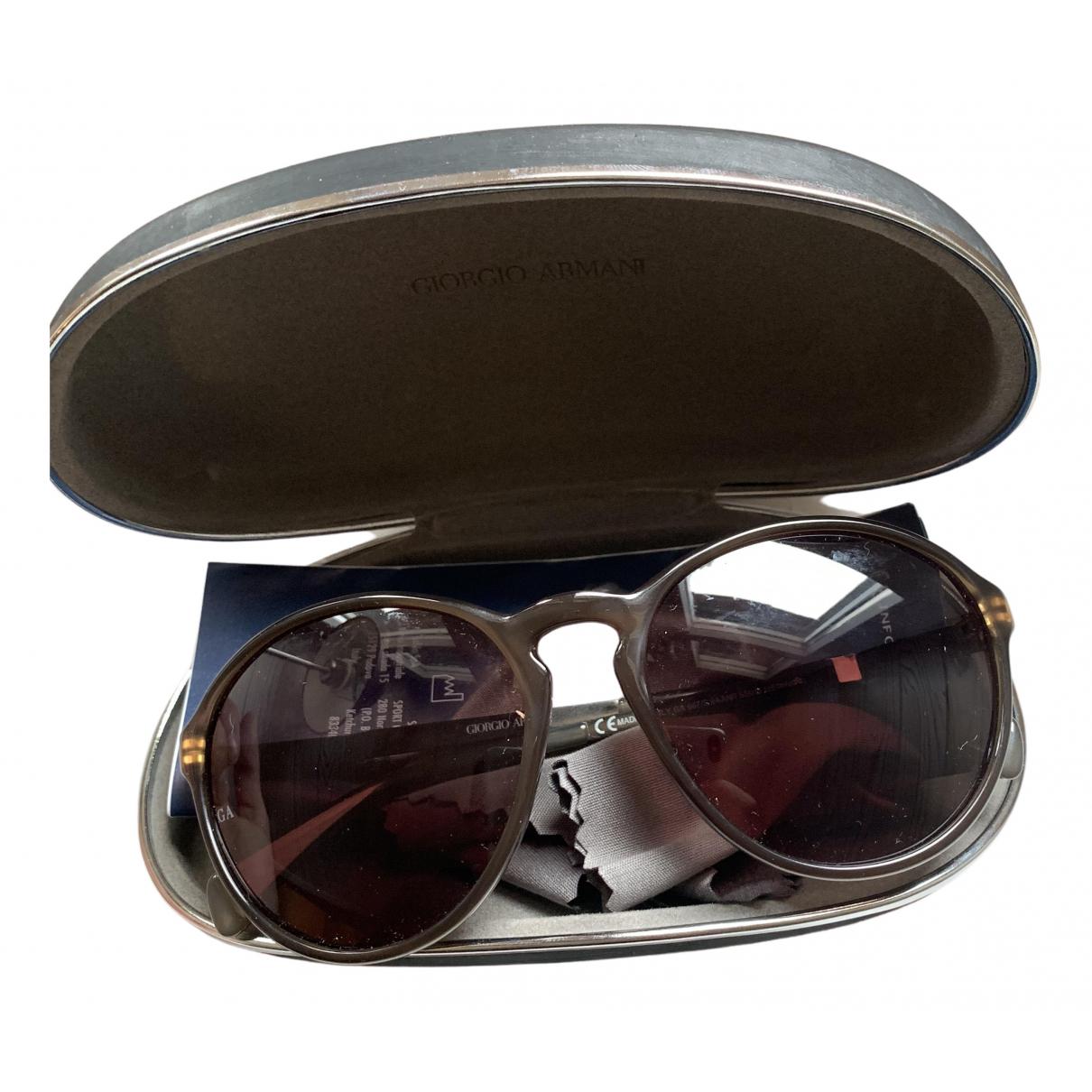 Giorgio Armani \N Grey Metal Sunglasses for Women \N