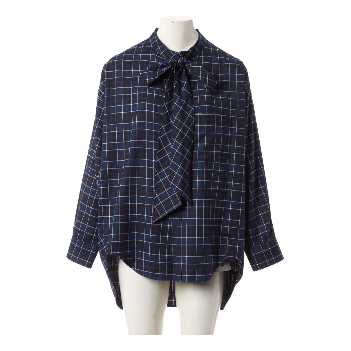 Balenciaga - Top   pour femme en coton - multicolore