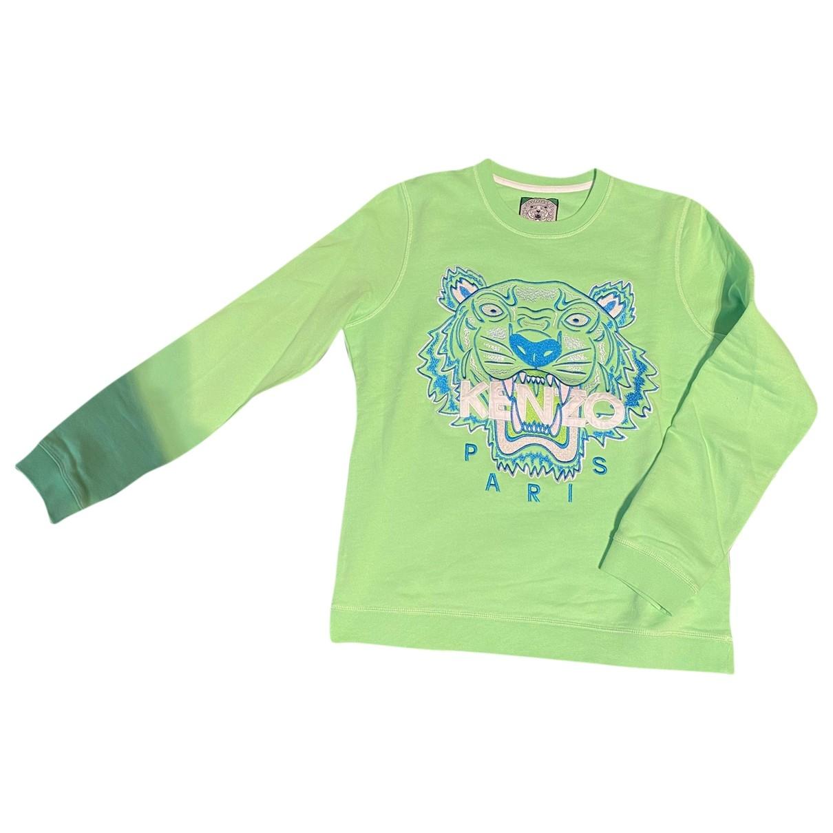 Kenzo \N Pullover in  Gruen Baumwolle