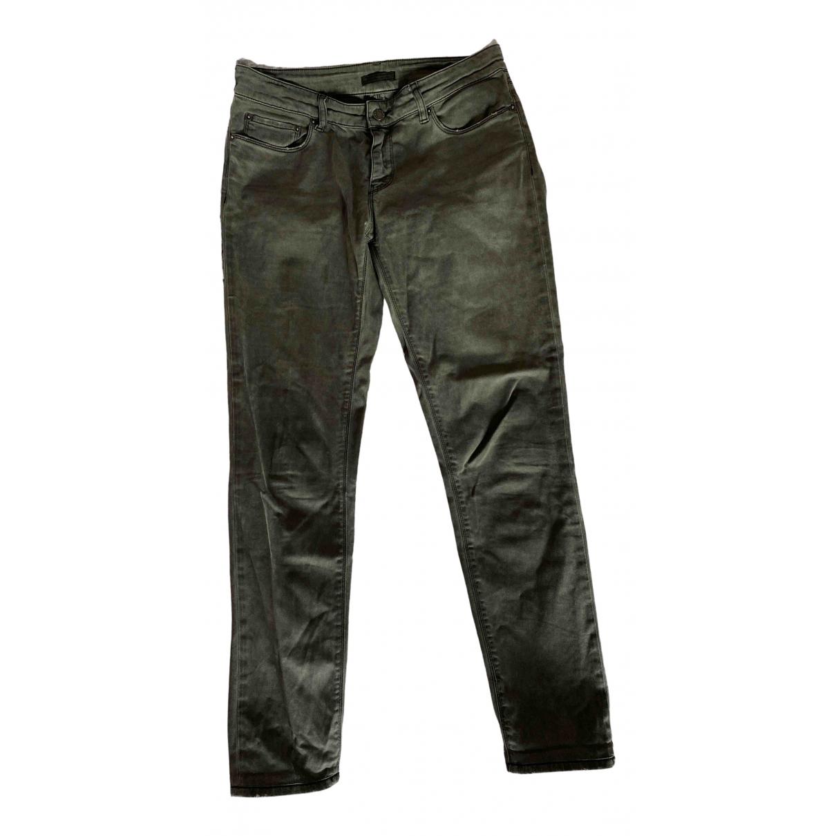Prada N Grey Cotton Jeans for Women 27 US
