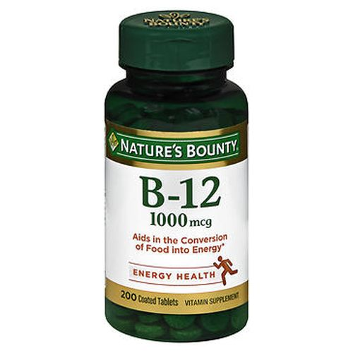 Natures Bounty B12 Coated Tablets 200 Tabs by Natures Bounty