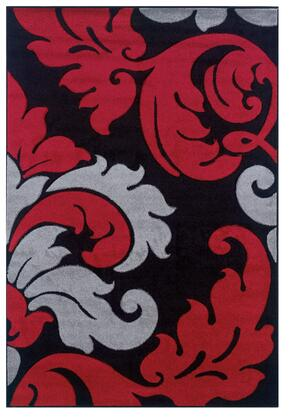 RUG-CU1081 8 x 10 Rectangle Area Rug in