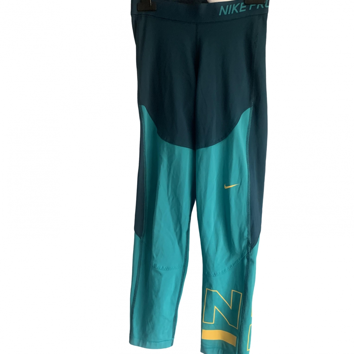 Nike \N Blue Cotton Trousers for Women 8 UK