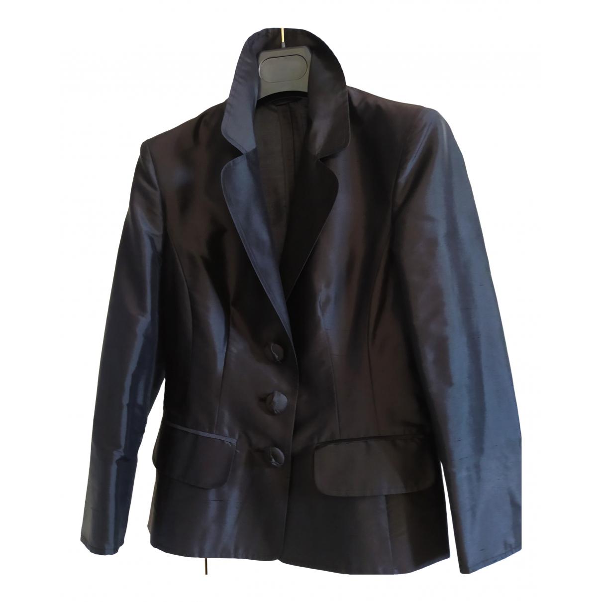 Sport Max - Veste   pour femme en soie - noir