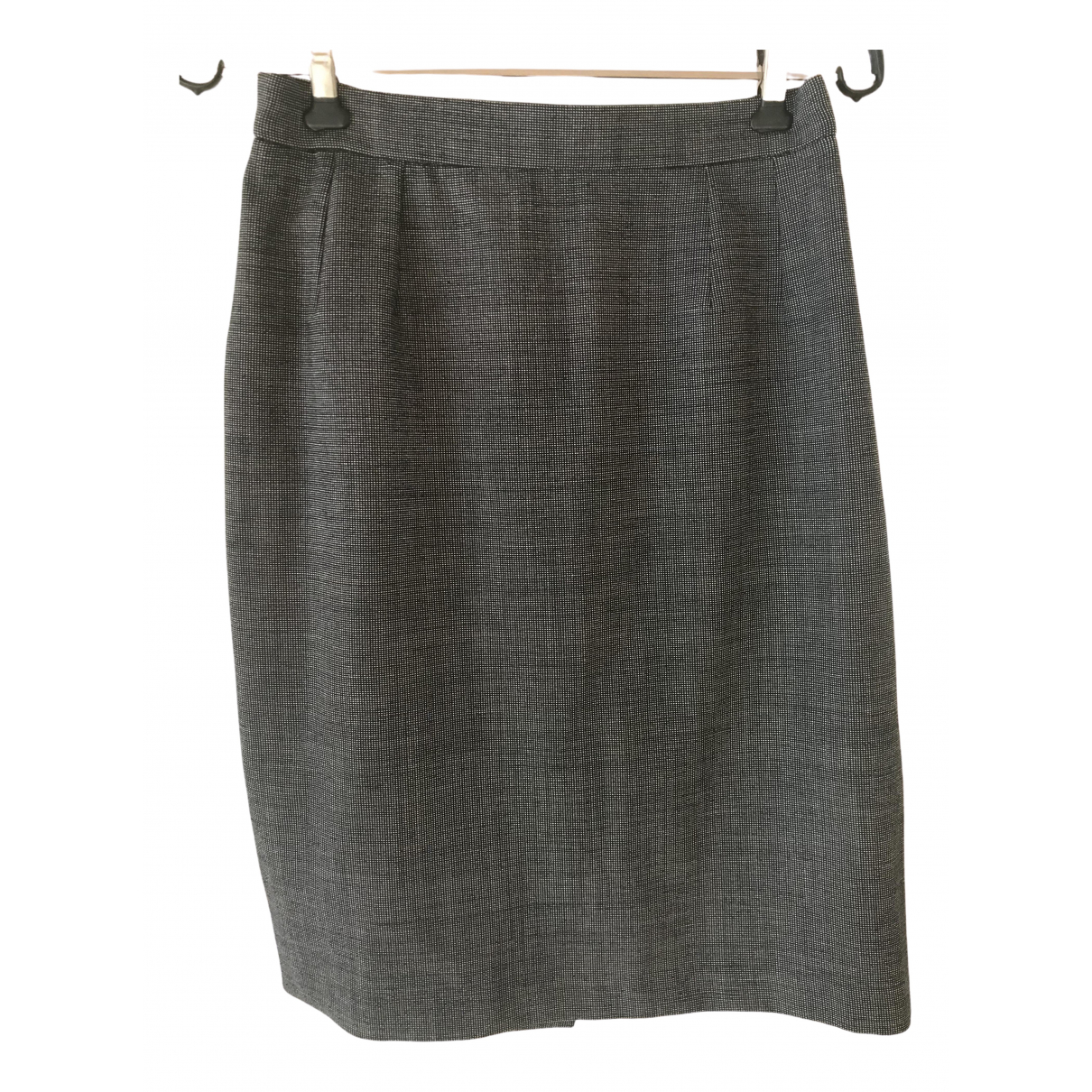 Chantal Thomass \N Anthracite Wool skirt for Women 38 FR