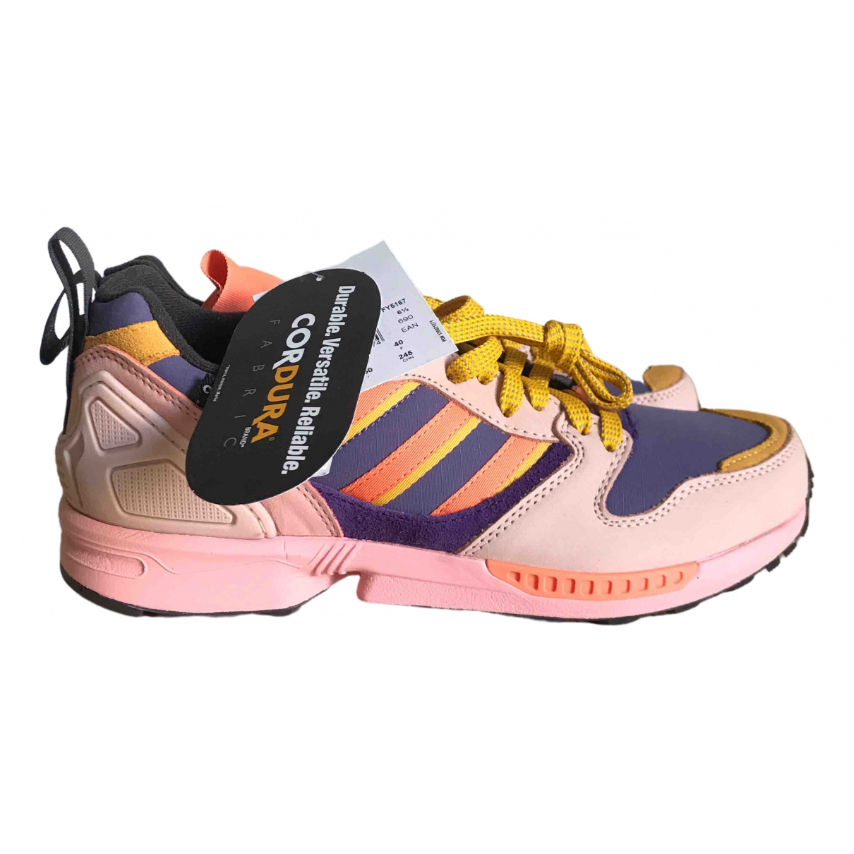 Adidas ZX Pink Rubber Trainers for Men 7 US
