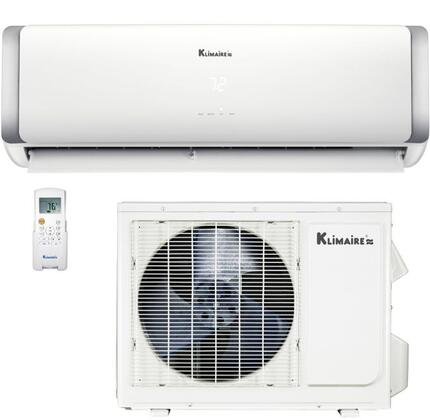 KSIH018-H220-S(W) KSIH Series HYPERHEAT Ductless Mini Split Inverter Air Conditioner with 18000 BTU Cooling Capacity  Heat Pump and WiFi Enabled in