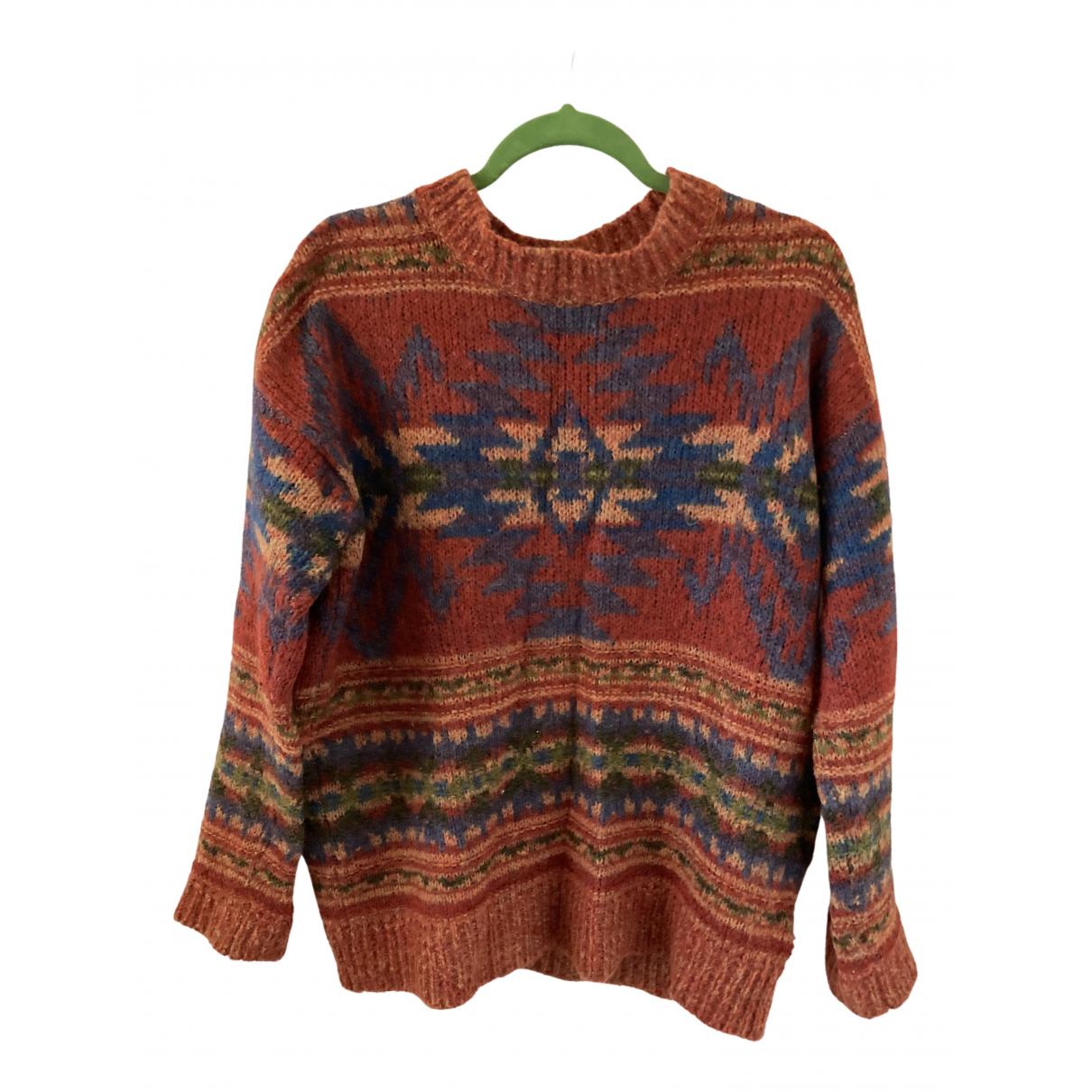 Ralph Lauren Denim & Supply \N Orange Wool Knitwear for Women S International
