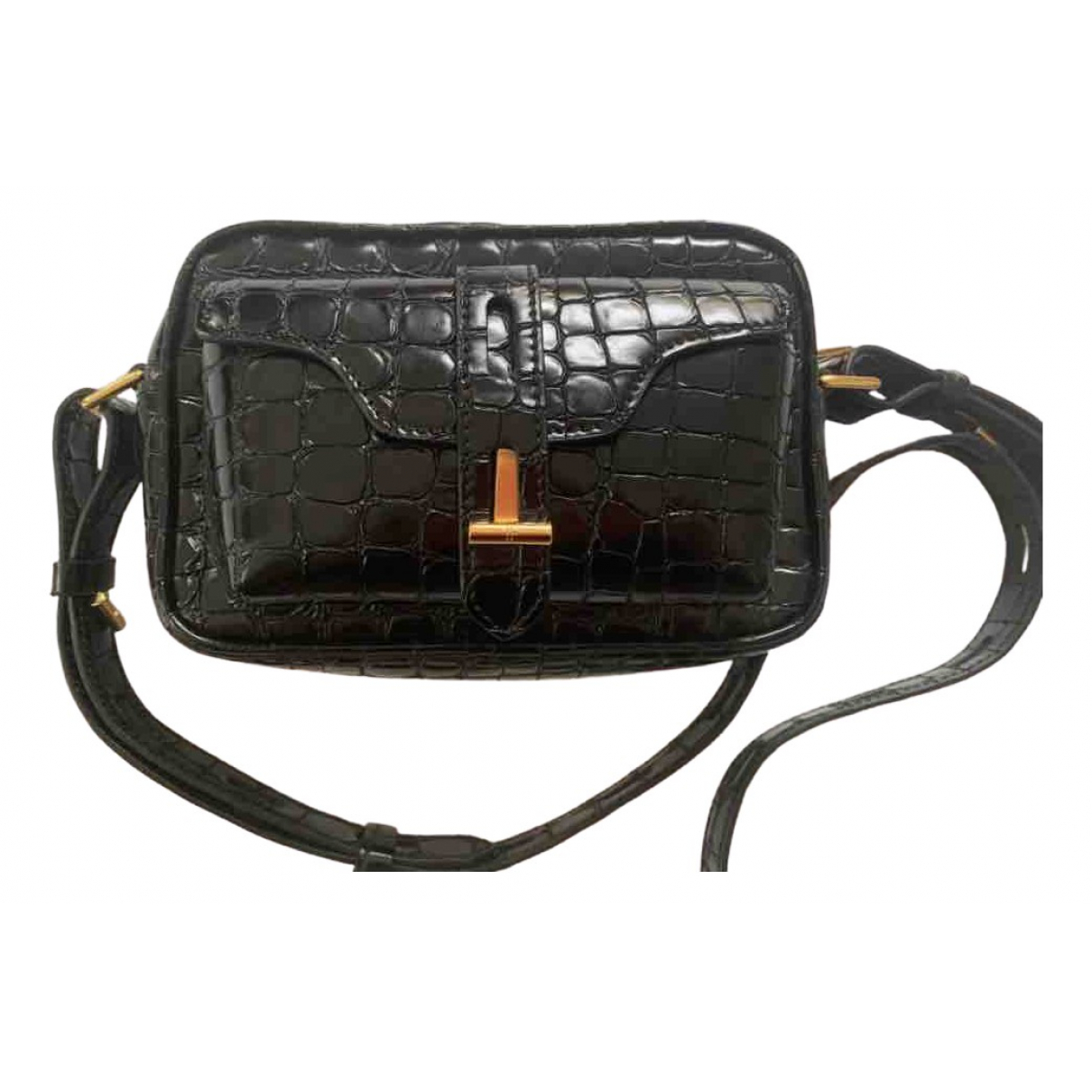 Tom Ford \N Black Patent leather handbag for Women \N