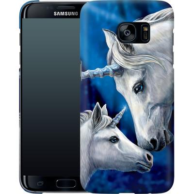 Samsung Galaxy S7 Edge Smartphone Huelle - Sacred Love von Lisa Parker