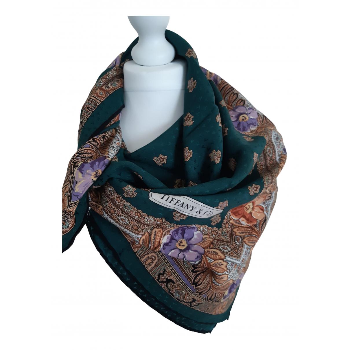 Tiffany & Co - Carre   pour femme en soie - multicolore