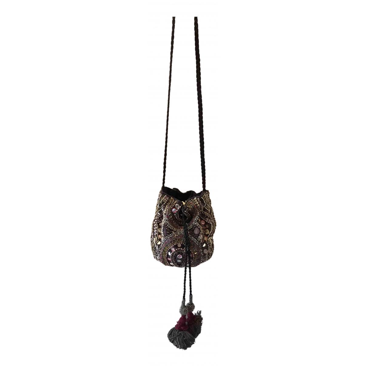 Zara N Silver Glitter Clutch bag for Women N