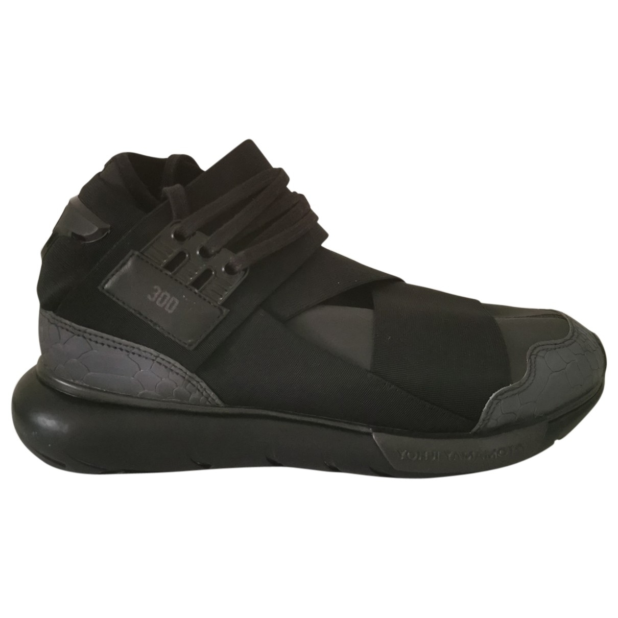 Y-3 \N Black Cloth Trainers for Men 7 UK