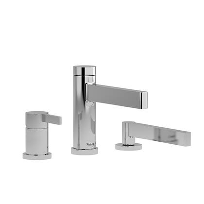 Paradox PX16BG-SPEX 3-Piece Pressure Balance Deck Mount Tub Filler with Hand Shower  in Brushed