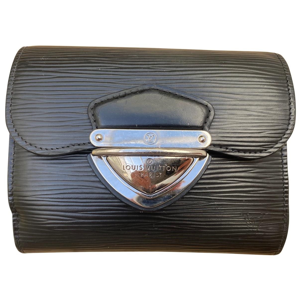 Louis Vuitton - Portefeuille Koala pour femme en cuir - noir